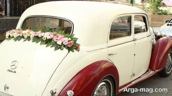 ماشین عروس متفاوت و قدیمی