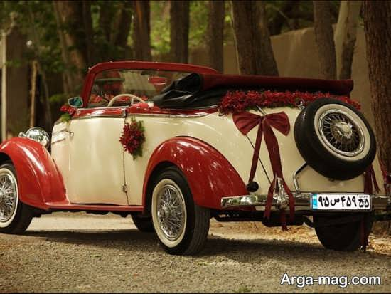 انواع مدل ماشین عروس کلاسیک