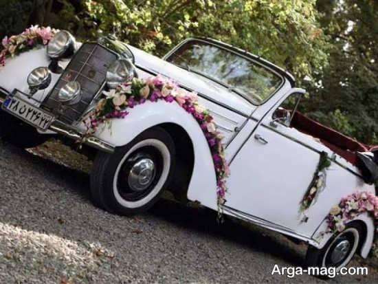 شیک ترین مدل های ماشین عروس کلاسیک