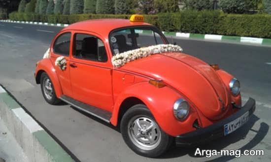 ماشین عروس قدیمی