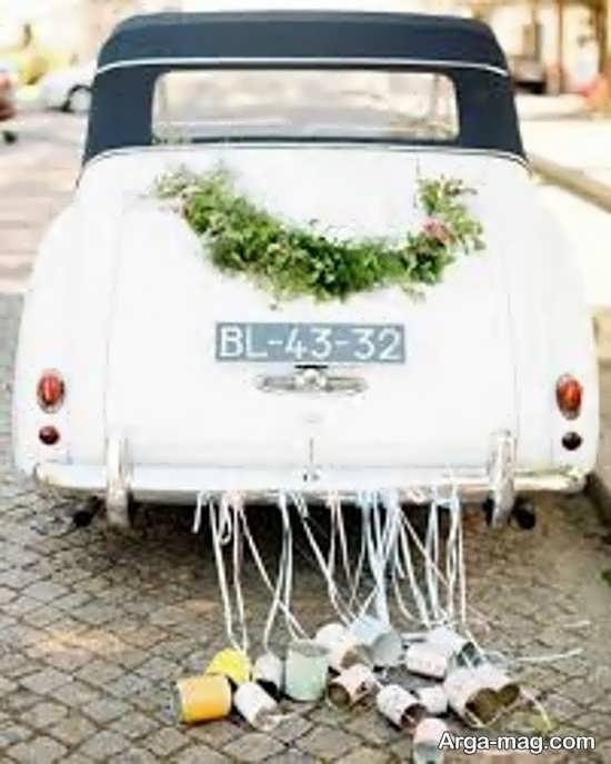 مدل های زیبا ماشین عروس کلاسیک