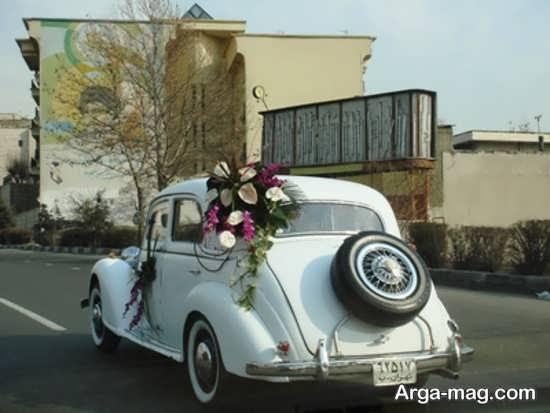 مدل های جذاب ماشین عروس کلاسیک
