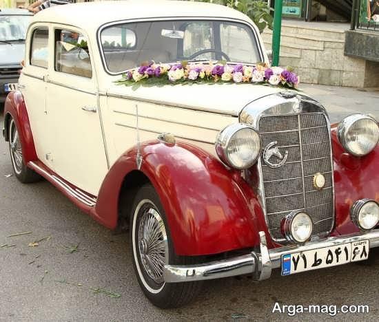 ماشین عروس متفاوت قدیمی