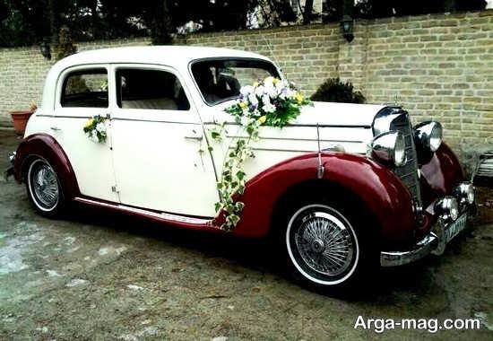 ماشین عروس جذاب قدیمی