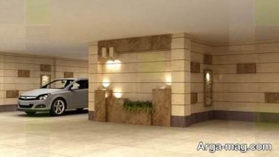 ایده جذاب از پارکینگ مسکونی