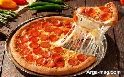 دستور تهیه پیتزا پپرونی