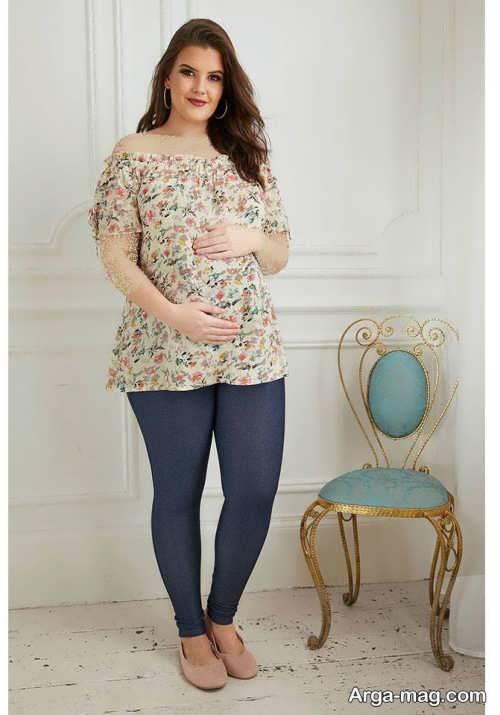 مدل لباس راحتی برای بارداری