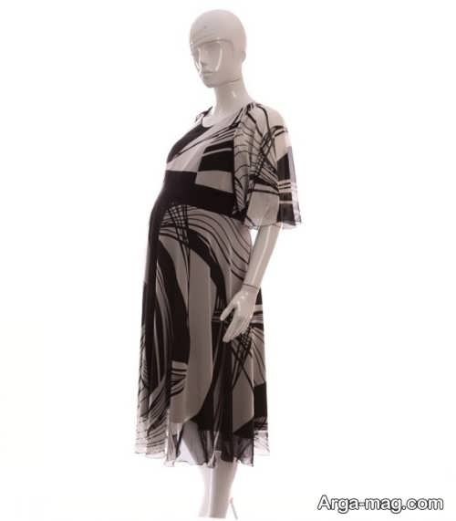 لباس بارداری طرح دار