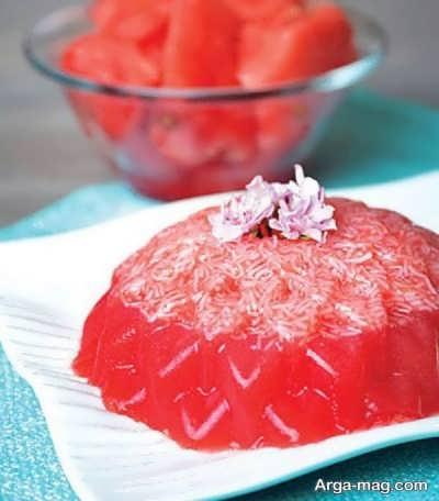 طرز تهیه فالوده هندوانه