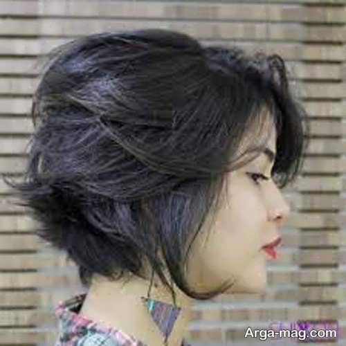 مدل مو گرد دخترانه