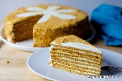 طرز تهیه کیک روسی خوشمزه شکلاتی با طعم و مزه ایده آل