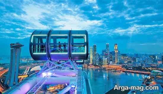 سفر به مناطق پر جاذبه سنگاپور