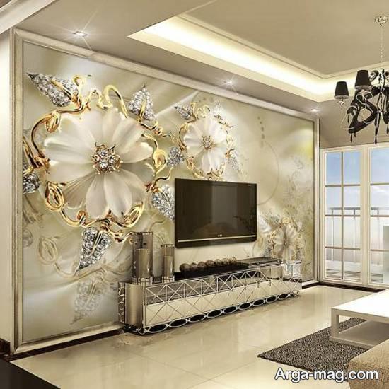 انواع کاغذ دیواری برای زیبا ساختن دیوار