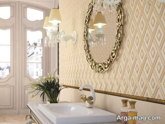 کاغذ دیواری متنوع و خاص سالن پذیرایی