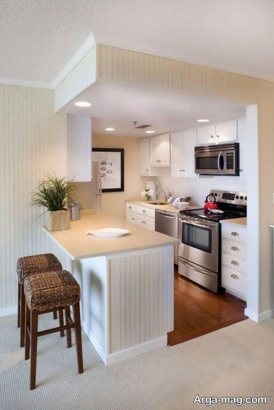 چیدمان آشپزخانه کوچک