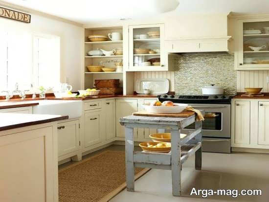 دیزاین متفاوت آشپزخانه کوچک