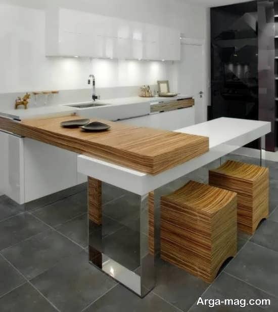 چیدمان و طراحی آشپزخانه کوچک