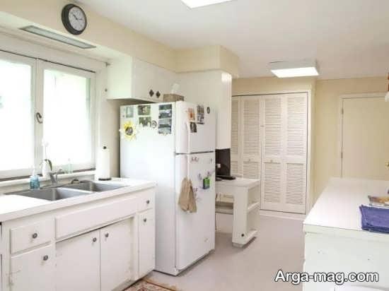 دیزاین جذاب آشپزخانه کوچک