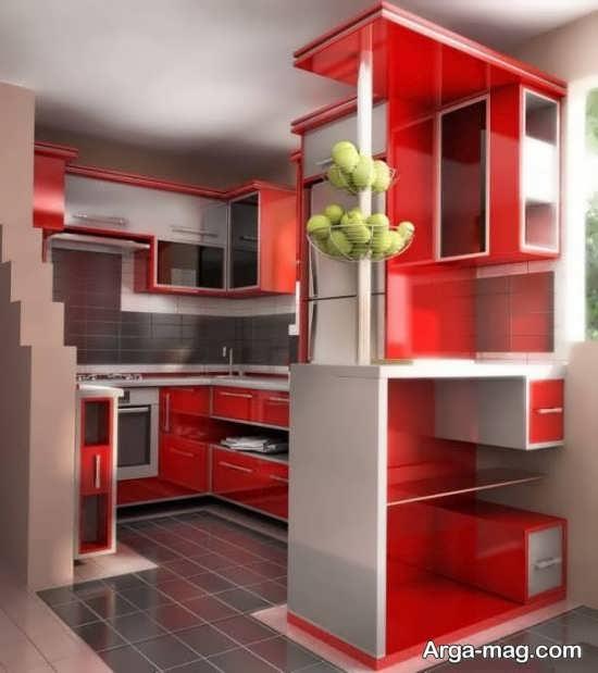 دیزاین مدرن آشپزخانه کوچک