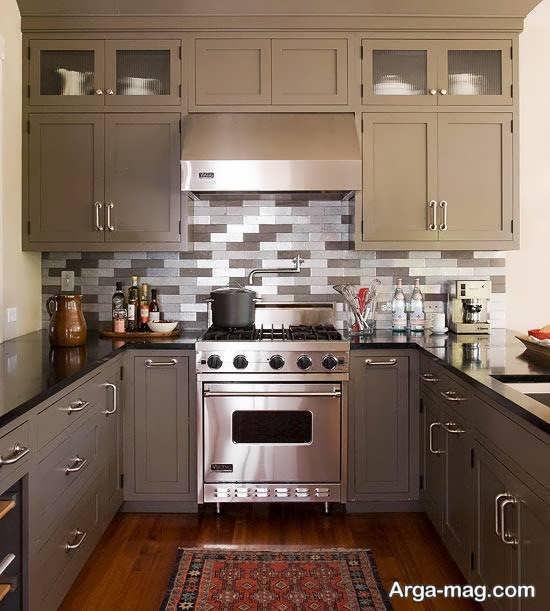 طراحی خاص آشپزخانه کوچک