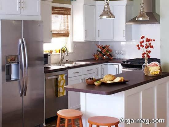 طراحی دیدنی آشپزخانه کوچک