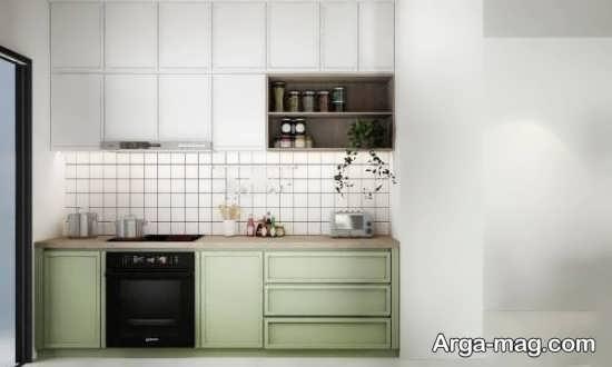 طراحی متفاوت آشپزخانه کوچک