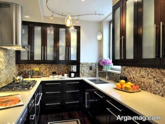 طراحی جدید آشپزخانه کوچک