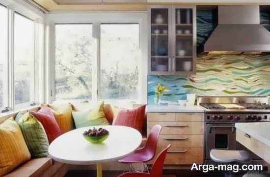 دکوراسیون خاص آشپزخانه کوچک