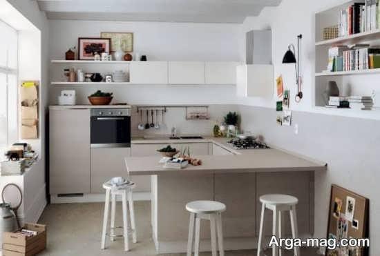 دکوراسیون دیدنی آشپزخانه کوچک