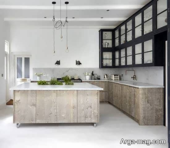دکوراسیون مدرن آشپزخانه کوچک