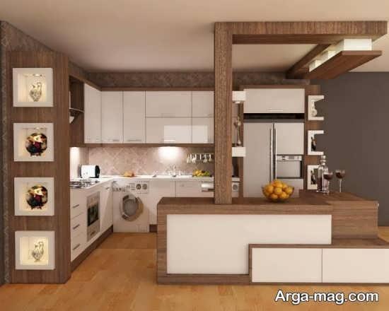 دکوراسیون جدید آشپزخانه کوچک