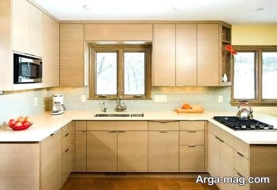 دکوراسیون شیک آشپزخانه کوچک