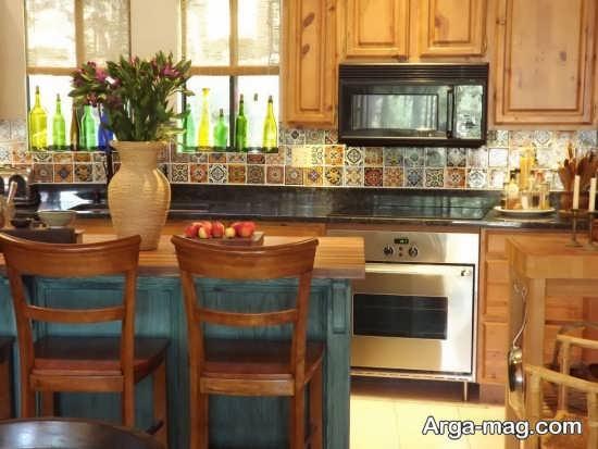دکوراسیون متفاوت آشپزخانه کوچک