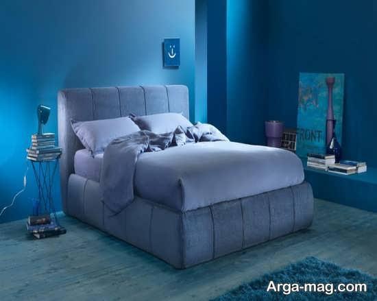 رنگ منحصر به فرد اتاق خواب