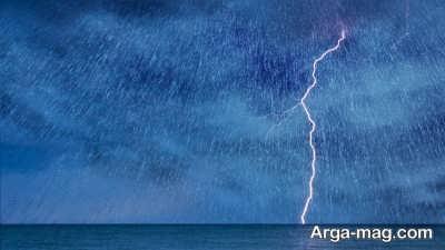 تعبیر خواب باران و رعد و برق