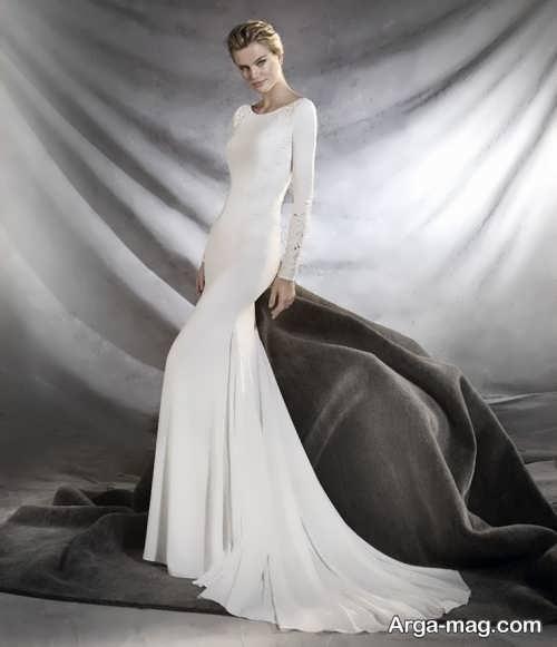 مدل پیراهن عروس زیبا و شیک