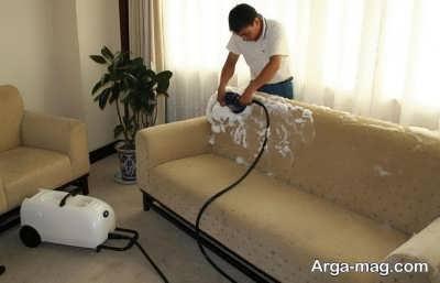 شستن و تمیز کردن مبلمان