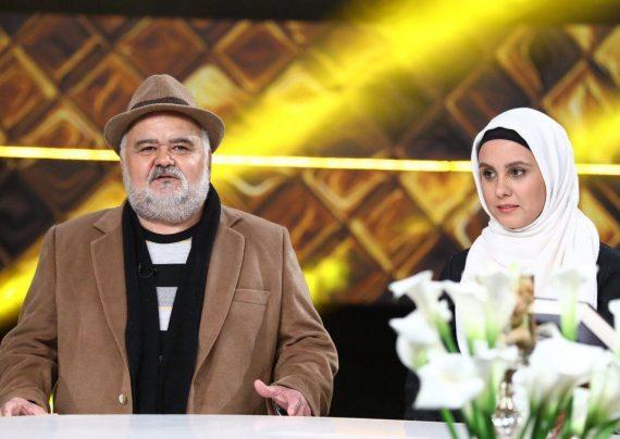 تفریح اکبر عبدی در کنار دخترش