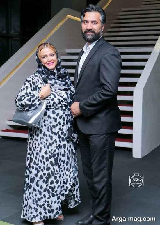بهاره رهنما و همسرش در مراسم اکران فیلم سرکوب