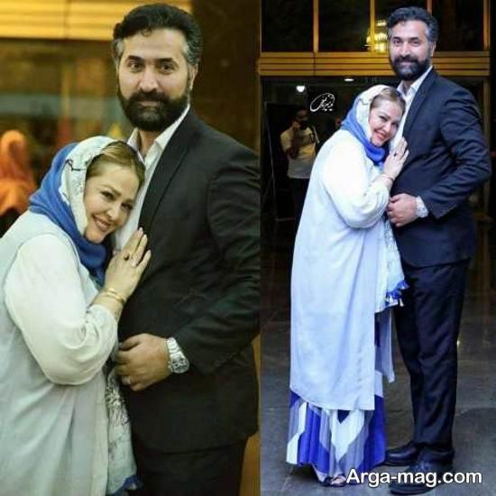 عکس رمانتیک بهاره رهنما و همسرش امیرخسرو