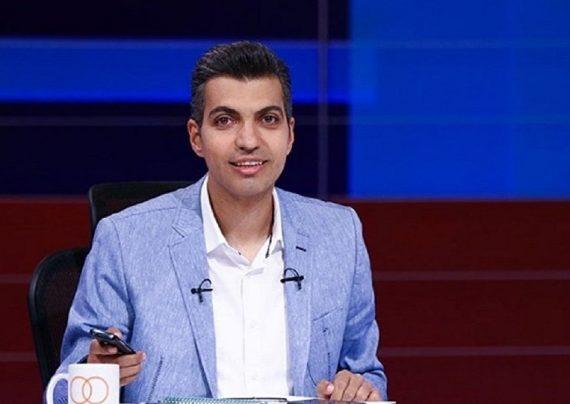 عادل فردوسی پور و بازیگر بانوی عمارت