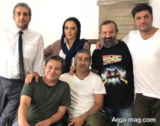 """گروه فیلم """"خوب، بد، جلف"""" در کنار مهراب قاسم خانی"""