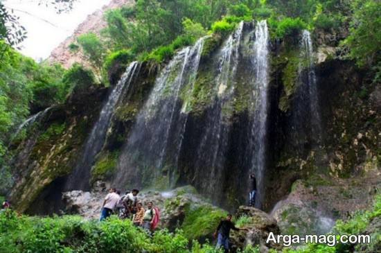 آبشار دیدنی قوچان