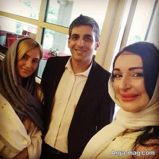 حمید گودرزی و همسر دومش