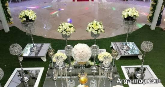 گل آرایی میز عقد