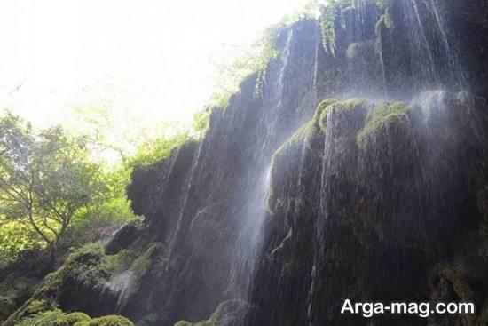 آبشار دیدنی گرگان