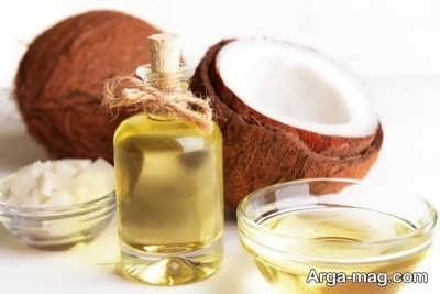 درمان ریزش مو با روغن نارگیل