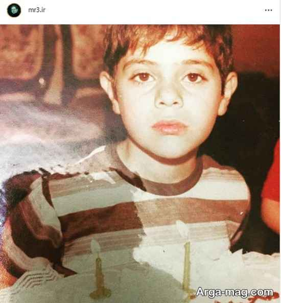 کودکی محمدرضا حسینیان