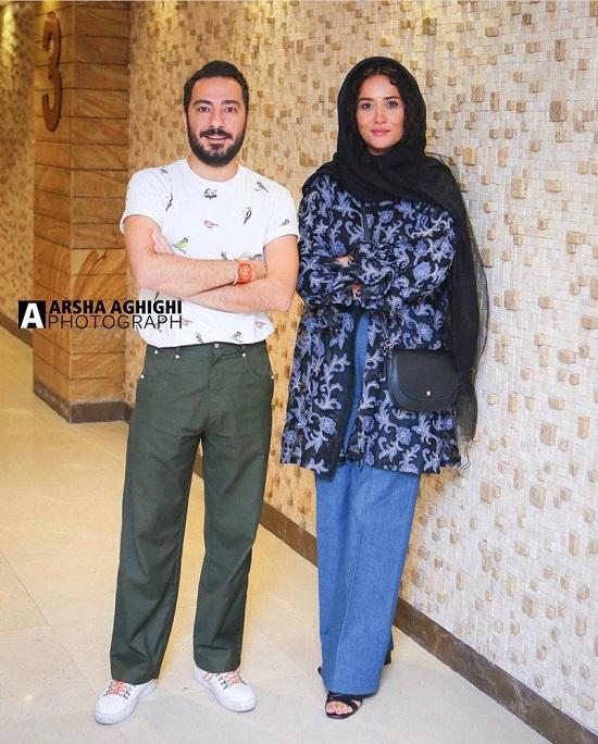 نوید محمدزاده و پری ناز ایزدیار