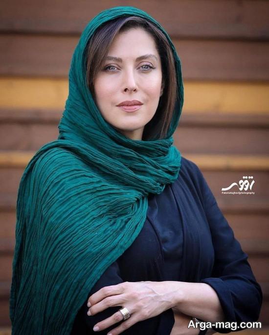 آرام جعفری در جشنواره حافظ در کنار همسرش